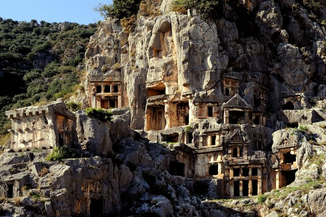 File:Myra Rock Tombs.jpg