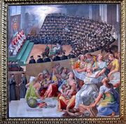 Council of Trent by Pasquale Cati