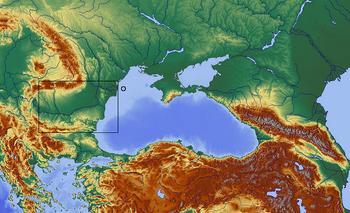 Schwarzes Meer und Umgebung(Dacia)