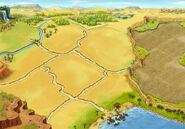 Background dry estate level-1