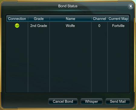 Gg bond status