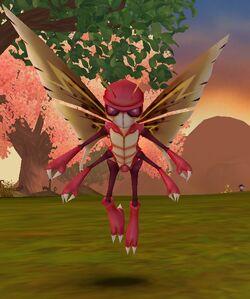 Queen Cherry Blossom Moth