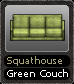 Squathouse Green Couch