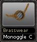 Brasswear Monoggle C
