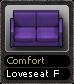 Comfort Loveseat F