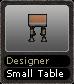Designer Small Table