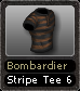 Bombardier Stripe Tee 6