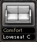 Comfort Loveseat C