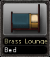 Brass Lounge Bed