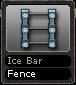 Ice Bar Fence
