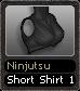 Ninjutsu Short Shirt 1