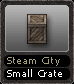 Steam City Small Crate