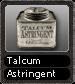 Talcum Astringent