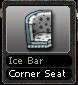 Ice Bar Corner Seat