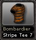 Bombardier Stripe Tee 7