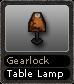 Gearlock Table Lamp