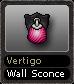 Vertigo Wall Sconce