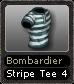 Bombardier Stripe Tee 4