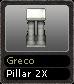 Greco Pillar 2X