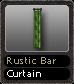Rustic Bar Curtain