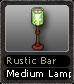 Rustic Bar Medium Lamp