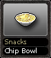 Snacks Chip Bowl