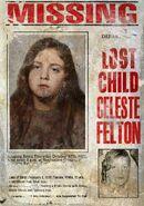 Celeste Felton missing poster