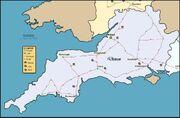 Devon County all nodes