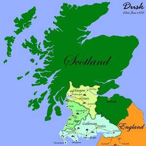 Scotland June 1458