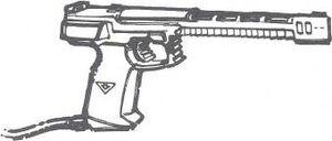 K-burner laser pistol 01