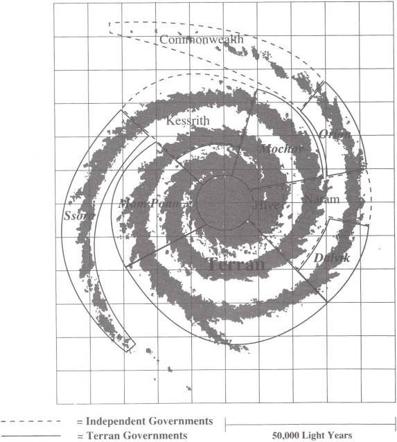 RL Galaxy Map