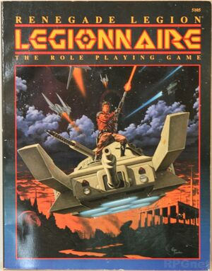 Legionnaire RPG cover