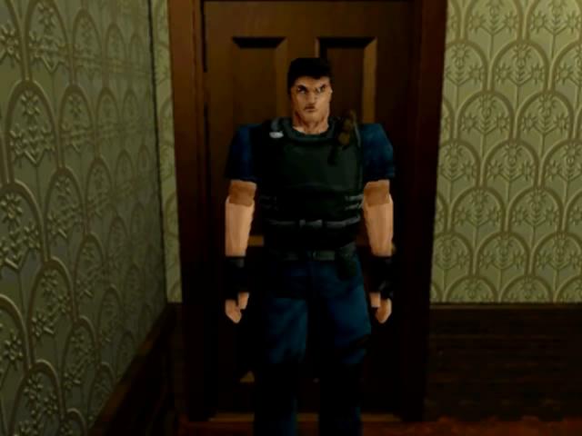 File:Chris alternate uniform - sega saturn.png
