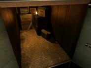 Resident Evil 3 background - Uptown - warehouse n - R1010B