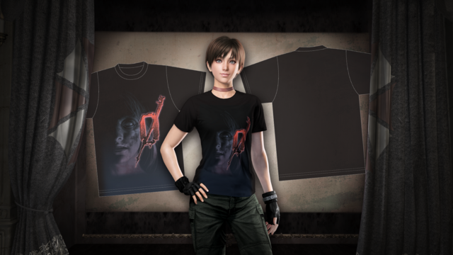 Fichier:RE0HD DLC Pre-order bonus Rebecca T-shirt.png
