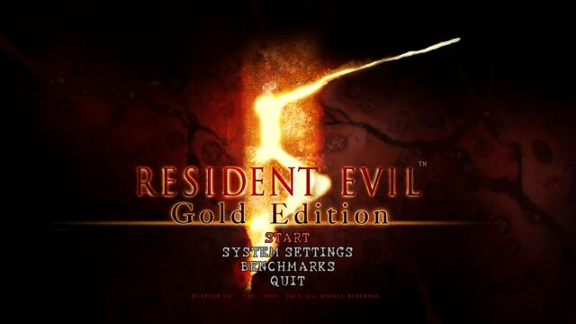 File:Resident Evil 5 - Gold Edition - PC - Title - 2016-01-26 00001.jpg