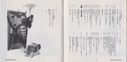 Fate of Raccoon City Vol.3 booklet - pages 12 and 13