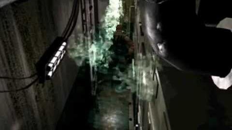 Resident Evil 3 Nemesis cutscenes - Escaping the basement(alternate)