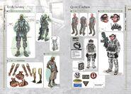 Resident Evil Revelations Artbook - page 6
