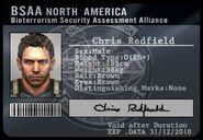 RE5 BSAA ID Chris