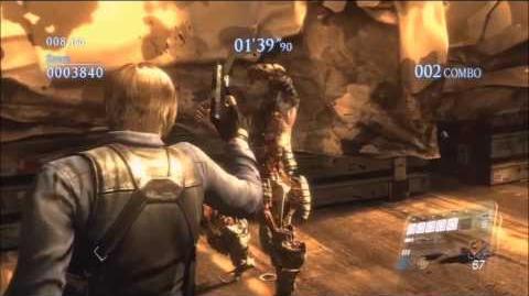 Resident Evil 6 Mercenaries gameplay