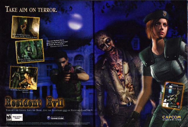 File:Resident Evil remake - GamePro - Issue 167 August 2002 - advertisement.jpg