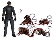 Resident Evil 4 Digital Archives - Las Plagas Size Comparison P.65