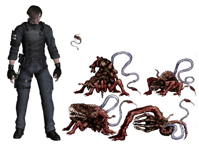 File:Resident Evil 4 Digital Archives - Las Plagas Size Comparison P.65.png