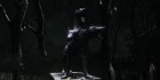 Cemetery Path Guard Dog Statue