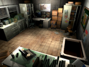 Resident Evil 3 background - Uptown - warehouse office b