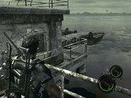 Oil field dock in-game (RE5 Danskyl7) (4)
