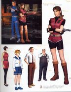 CAPCOM design WORKS art book - Chapter 01 - bio hazard-series - Page 23