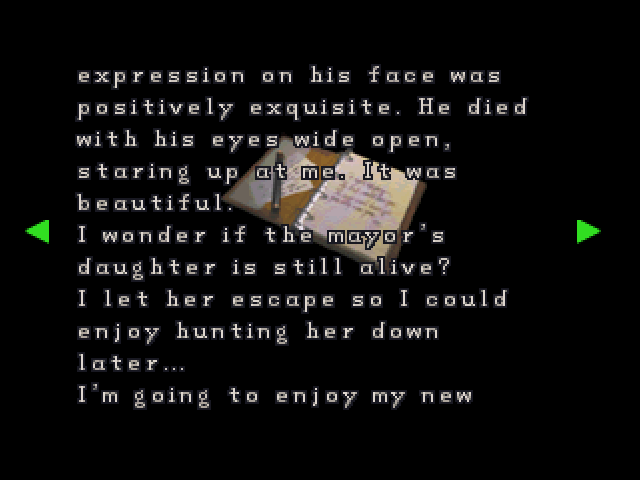 File:RE2 Chief's diary 06.png