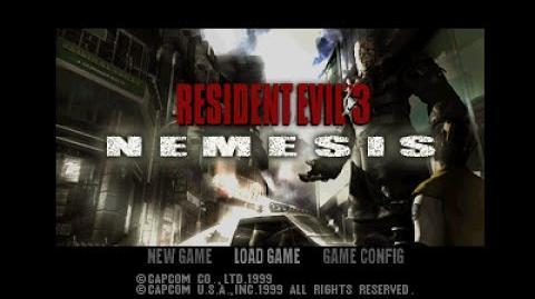 PSX Longplay 037 Resident Evil 3 Nemesis
